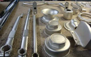Dull Nickel Car Parts