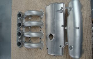 rocker cover bead blasted