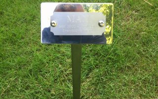 Stainless Steel memorial Plaque