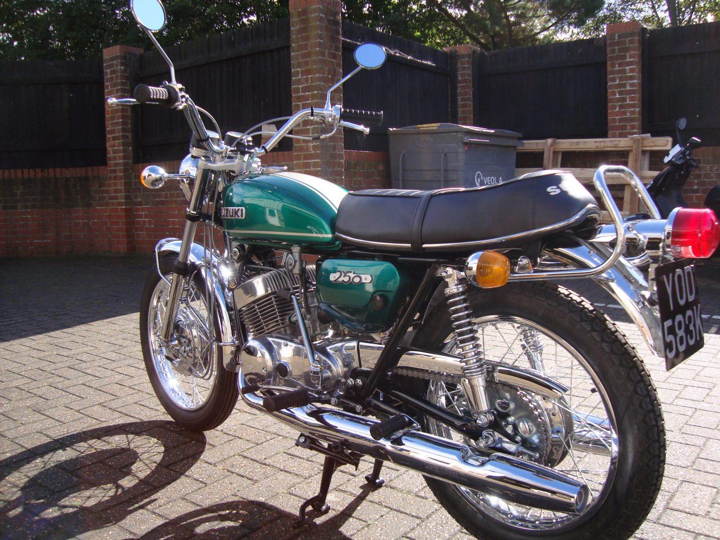 Suzuki T 250 Hustler 1972