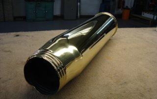 Brass Shell After Polishing