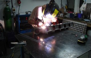 Alloy cylinder head repair